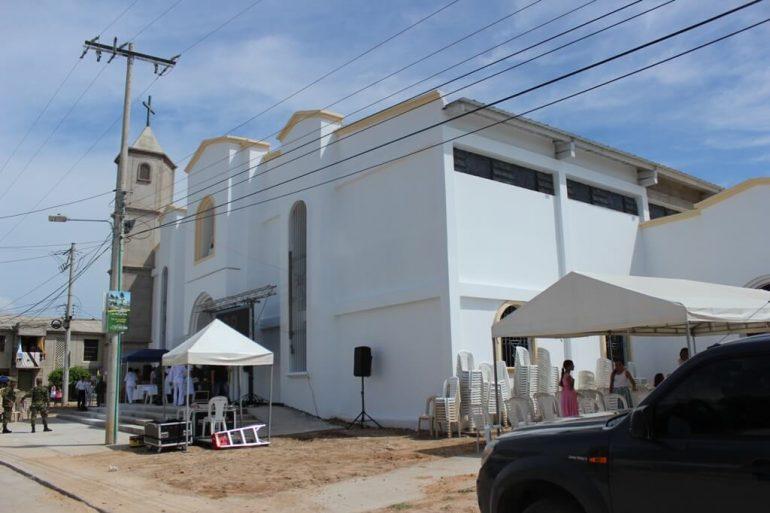 Parroquia Nuestra Señora del Carmen San juan del Cesar- la Guajira